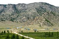 Vacation camp in the  Gorkhi Terelj National Park, Terelj, Mongolia