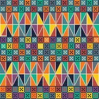 Palestinian embroidery pattern 150