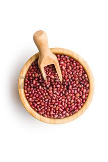 Red adzuki beans.