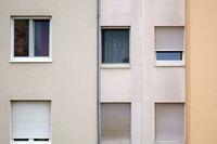Einfaches Wohngebäude