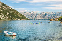 A view of Kotor Bay, Montenegro