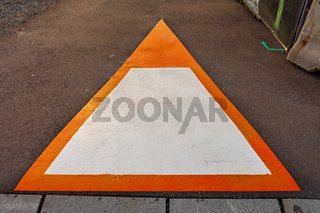 Triangle Sign Street