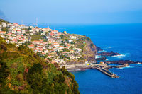 The tropical island of Madeira