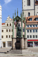 Lutherdenkmal auf dem Marktplatz, Wittenberg