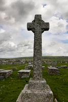 celtic cross - II - Tintagel - Cornwall - UK