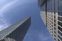 Moderne Architektur in Frankfurt, Deutschland