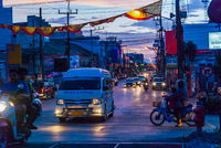 Phatthalung traffic at night