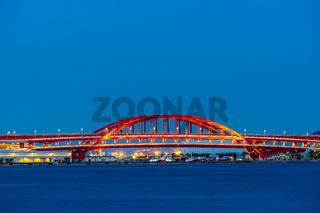 Red Bridge monorail Kobe