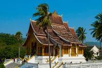 Haw Pha Bang temple, Luang Prabang