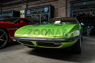 Sports car Maserati Indy (Tipo AM 116), 1970.
