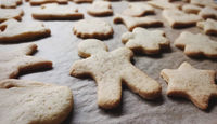 homemade cookies closeup