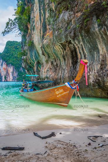 Bay of Koh Lao La Ding island, Krabi