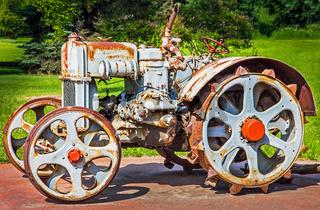 Old Tractor in Grande Prairie Alberta Canada