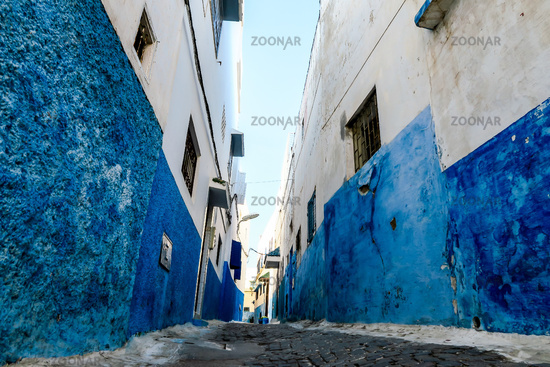 panoramic view of rabat city capital morocco, photo as background