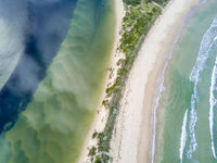 Fresh or Salty water- aerial views