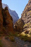 Famous canyon Masca at Tenerife - Canary