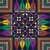 Palestinian embroidery pattern 129.eps