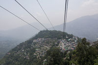 Cable car, Gangtok, Sikkim, India