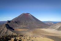 Mount Ngauruhoe in New Zealand