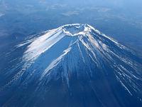 Fujiyama in Japan, volcano,