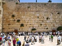 city of Jerusalem, sights of the city and Israel, religious symbols and buildings in the streets of the city.