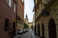 prague narrow alleyways