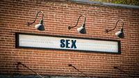 Street Sign to SEX