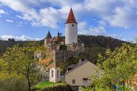 Castle Krivoklat in Czech Republic