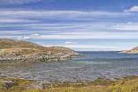 Fjord landscape at Sandviksberget