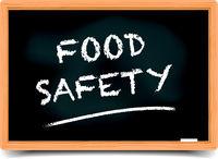 Blackboard Food Safety