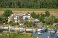 Bollwerk und Hotel Solthus am See in Baabe-Moritzdorf