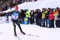 IBU Biathlon Massenstart Herren Ruhpolding 2019