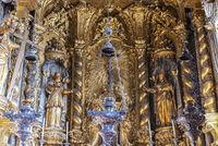 interior, Se catedral de Nossa Senhora, cathedral, Funchal, Madeira, Portugal, Europe