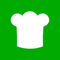 Kochhaube und Hintergrund - Chef hat and background