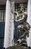 Statue of Neptune in Durham