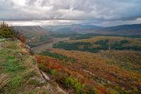 Autumn landscape in Crimea