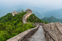 Great Wall of China at Badaling - Beijing