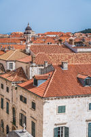 Church tower dome in Dubrovnik Old Town