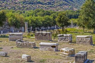 Ancient Graveyard, Ephesus, Turkey