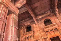 Red Fort of Agra. UNESCO World Heritage site.