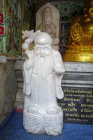 Monk statue, Wat Doi Suthep temple, Chiang Mai, Thailand