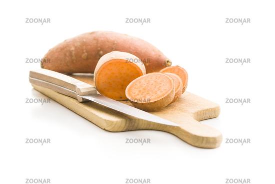 The sweet potatoes.