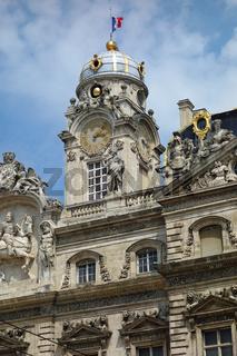 rathaus von lyon, frankreich