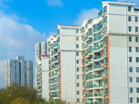 Shanghai residential apartment building China