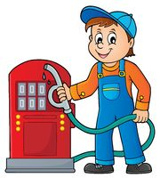 Gas station worker theme 1