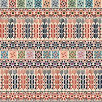 Palestinian embroidery pattern  109