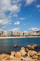 Blanes Resort Sea Town On Costa Brava
