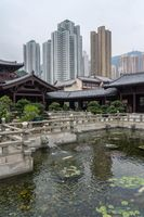 Chi Lin Nunnery in Diamond Hill area of Hong Kong