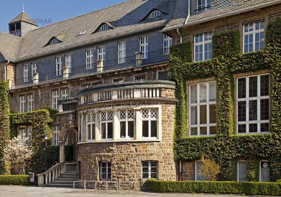 town hall, Werdohl, Sauerland, North Rhine-Westphalia, Germany, Europe
