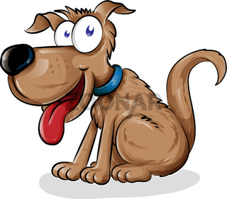 dog cartoon